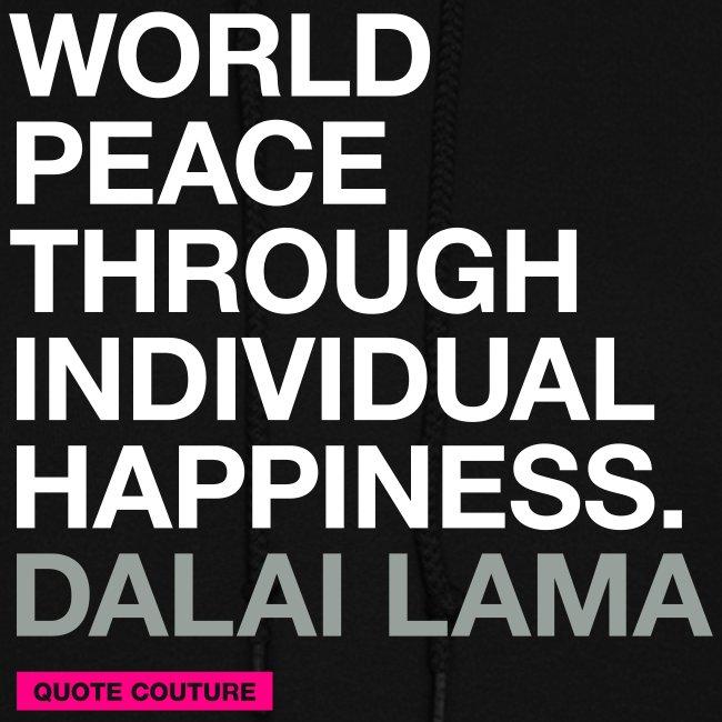 World peace (women -- medium)