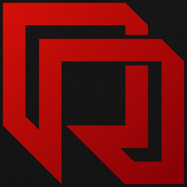 Red Iron Horizontal Dual Logo (White)