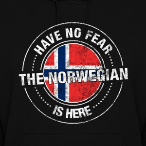 Have No Fear The Norwegian Is Here Shirt - Women's Hoodie