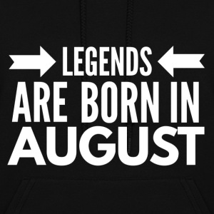 Legends Born August - Women's Hoodie