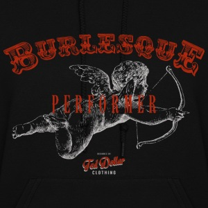 Burlesque Performer red - Women's Hoodie