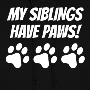My Siblings Have Paws - Women's Hoodie
