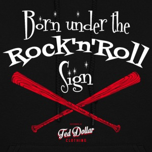 Born under the Rock'n'Roll sign - Women's Hoodie