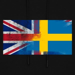 British Swedish Half Sweden Half UK Flag - Women's Hoodie