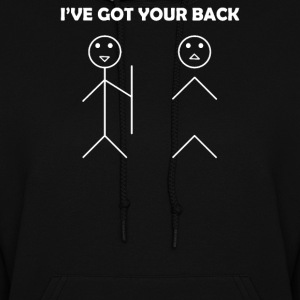 I've got your back stick figure - Women's Hoodie