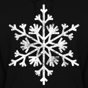 Big snowflake christmas t shirt - Women's Hoodie