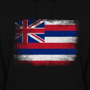 Hawaii American Flag Fusion - Women's Hoodie