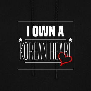 '' I Own A Korean Heart '' Design - Women's Hoodie