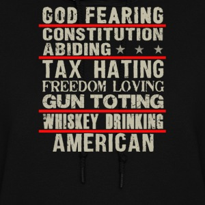 God fearing constitution abiding - Women's Hoodie