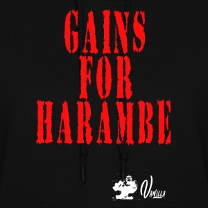 Gains for Harambe - Women's Hoodie