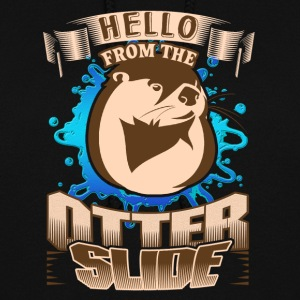 HELLO FROM THE OTTER SLIDE SHIRTS - Women's Hoodie