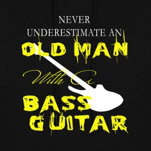 Old Man With A Bass Guitar T Shirt - Women's Hoodie