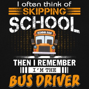 I'm The Bus Driver T Shirt - Women's Hoodie