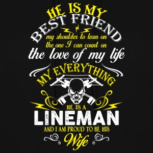 He Is A Lineman T Shirt - Women's Hoodie