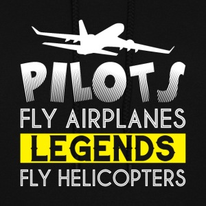 Pilots Fly Airplanes Legends T Shirt - Women's Hoodie