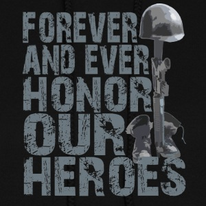 Honor Our Heroes - Memorial Day T-Shirt - Women's Hoodie
