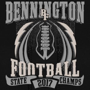Bennington BF Football State 2017 Champs - Women's Hoodie