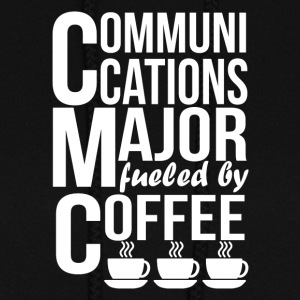 Communications Major Fueled By Coffee - Women's Hoodie