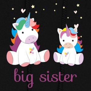 unicorn big sister - Women's Hoodie