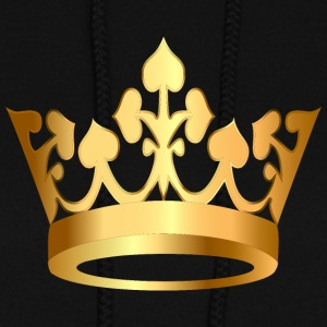 Monarch golden royal crown King gold art vip - Women's Hoodie