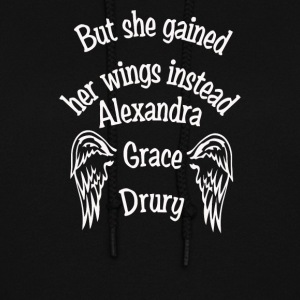 but she gained her wings instead - Women's Hoodie