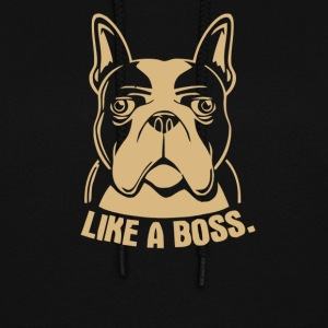 Like A Boss Rescue Dog Lover - Women's Hoodie