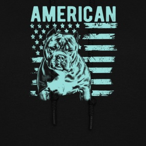 Patriotic Mens Pit Bull Shirt American Bully - Women's Hoodie