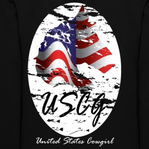 United States Cowgirl Shirts - Women's Hoodie