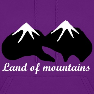 Land of mountains - Women's Hoodie