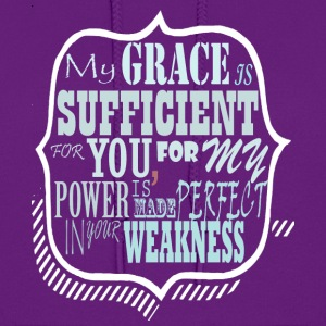 My Grace is Sufficent For You Design - Women's Hoodie