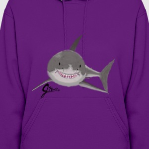 Great White Shark - Swaggy Shark - Women's Hoodie