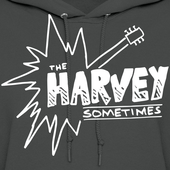 Band Logo - White - Front and Back