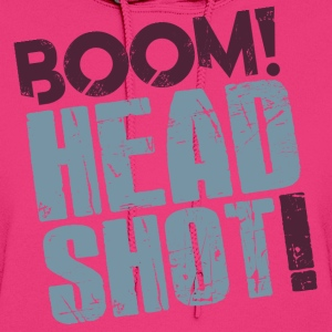 Female Boom Headshot - Women's Hoodie