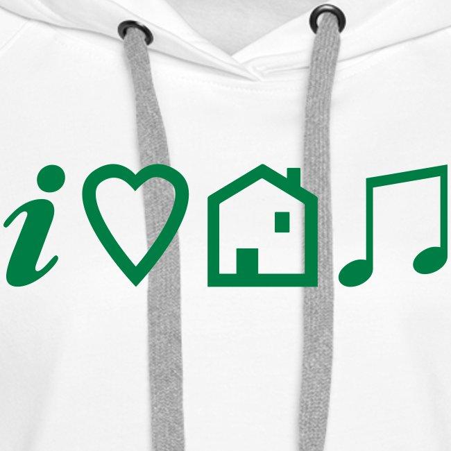 I Heart House Music - Symbolic Design 1