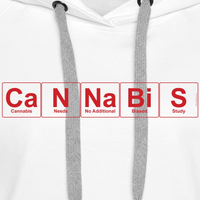 Periodic Cannabis Red/White