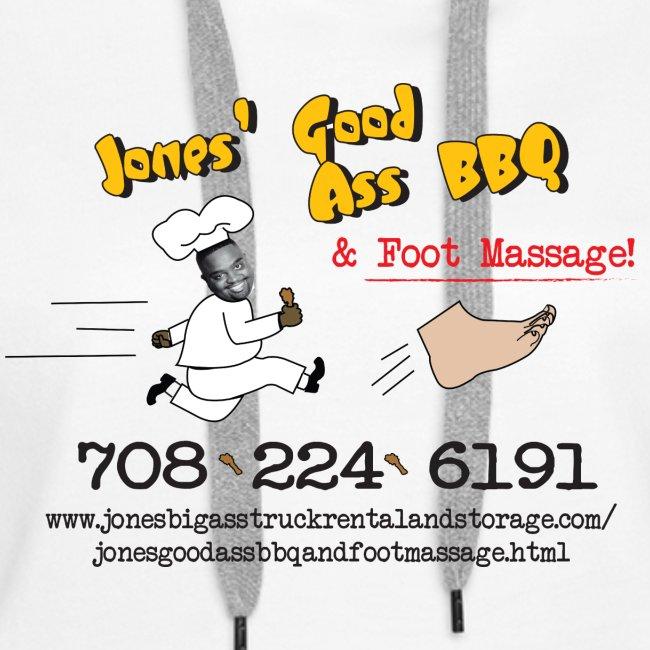 Jones Good Ass BBQ and Foot Massage logo