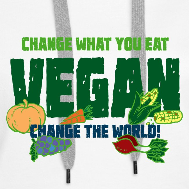 Change what you eat, change the world - Vegan