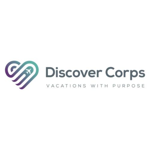 DiscoverCorp Logo Horizontal High 4 1 - Women's Premium Hoodie