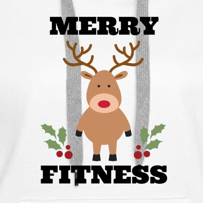 merry fitness Christmas Tee