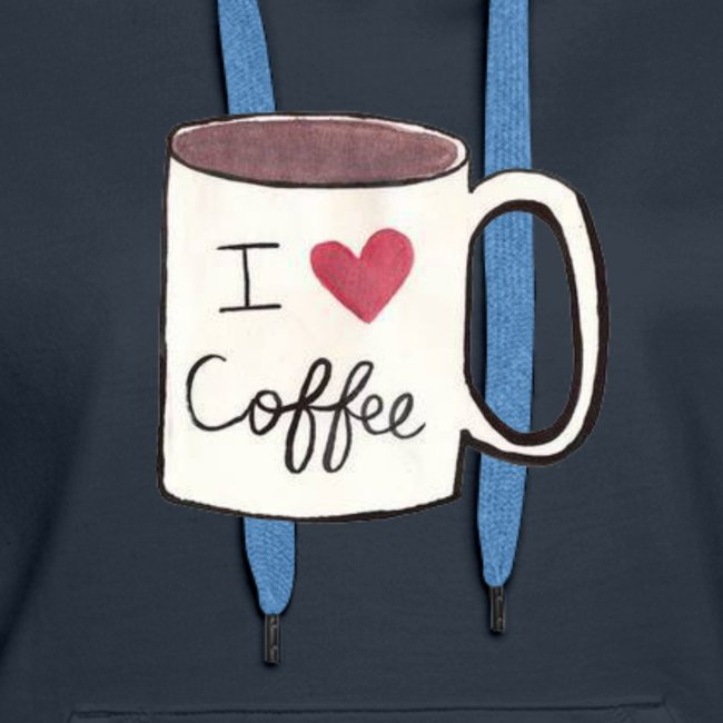 I Heart Coffee Coffee Cup Tee