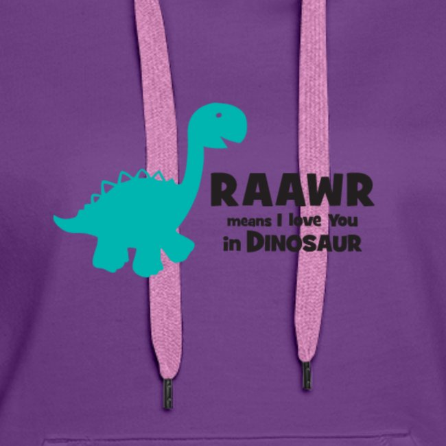 Dino RAAWR Means I Love You Tee
