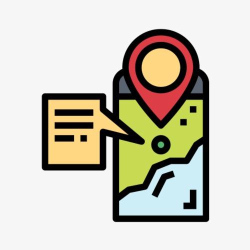 Mobile Map T - Women's Premium Hoodie