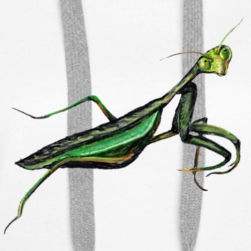 Praying mantis - Women's Premium Hoodie