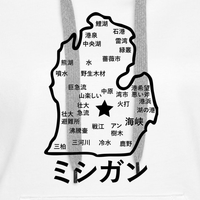 Michigan Japanese Map