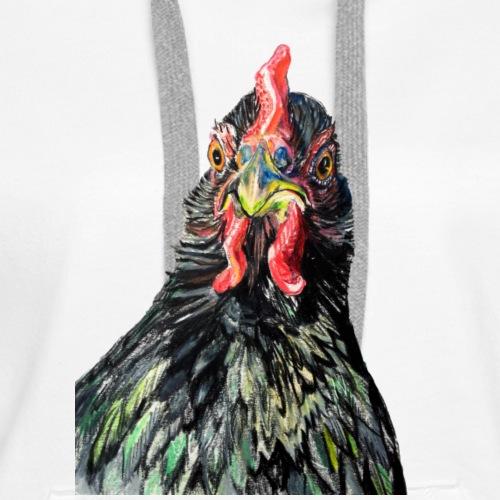 Bindin, Jersey Giant Hen - Women's Premium Hoodie