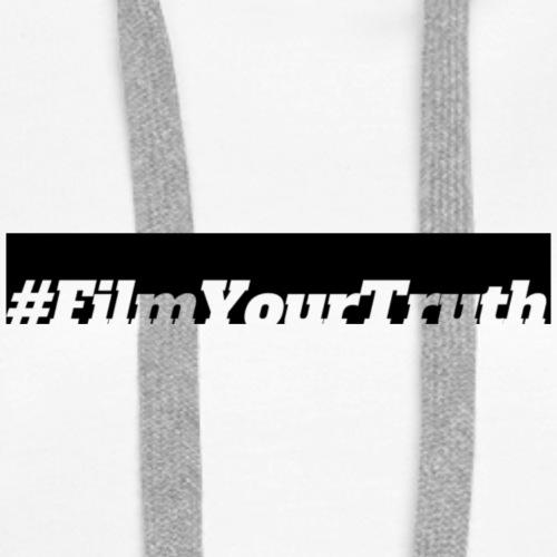 #FilmYourTruth - Logo - Women's Premium Hoodie