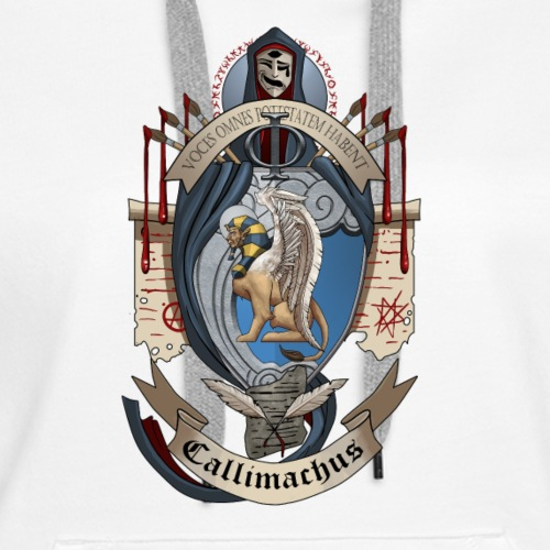 Callimachus Court Crest - Women's Premium Hoodie