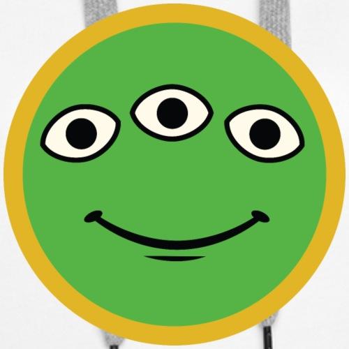 Little Green Explorer Badge - Women's Premium Hoodie