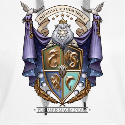 Imperial Magischola School Crest - Women's Premium Hoodie