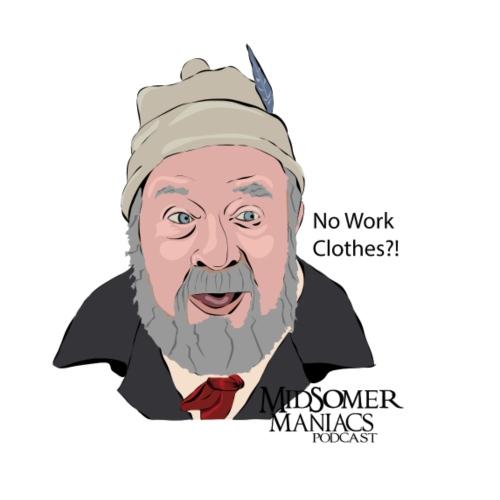 Midsomer Maniacs Podcast - Benbow dark text - Women's Premium Hoodie